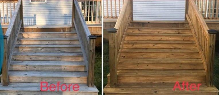 Deck restoration