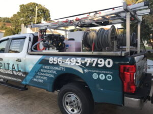 Commercial power cleaning